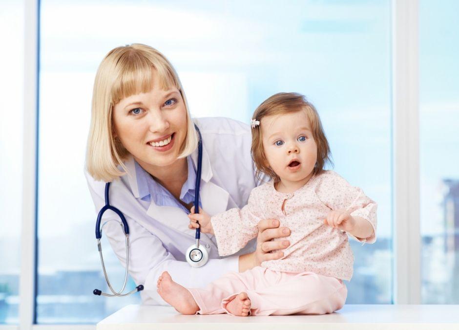 dziecko, lekarz, szpital, choroba