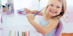 dziecko, malowanie