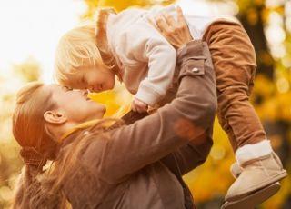 dziecko, mama, kobieta, jesień, odporność dziecka