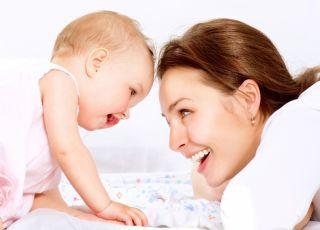 dziecko, mama, niemowlę