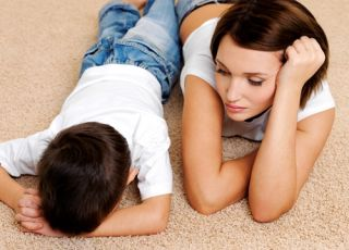 dziecko, mama, syn, kara, wychowanie, kłótnia