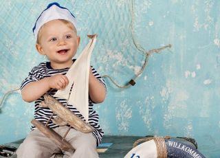 dziecko marynarz