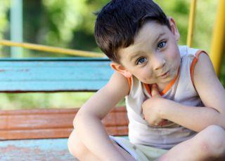 dziecko, mina, nadpobudliwość