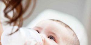 dziecko, mleko, butelka