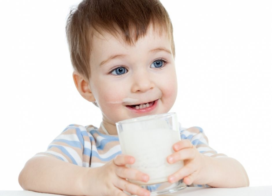 dziecko, mleko, posiłek, jedzenie