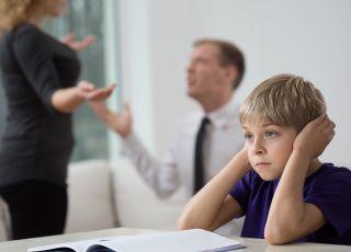 dziecko na rozprawie rozwodowej