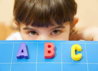dziecko, nauka, literki