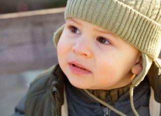 dziecko, niemowlę, jesień, ubranko