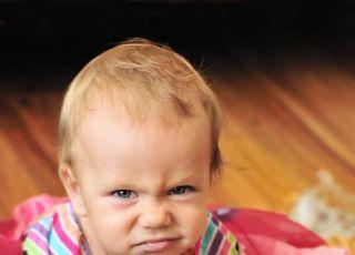 dziecko, niemowlę, złość, gniew