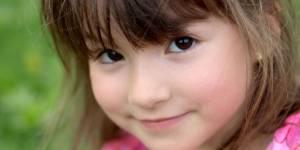 dziecko, oko, oczy, dziewczynka