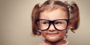 dziecko, okulary, wzrok dziecka