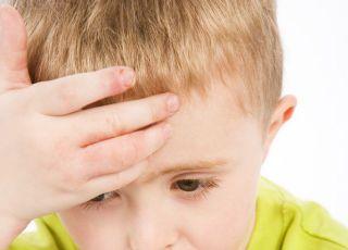 dziecko, przedszkolak, choroba, termometr
