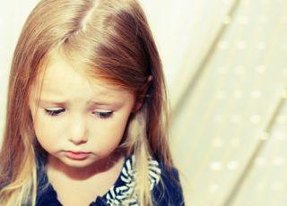 dziecko, przedszkolak, smutek