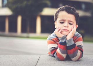 Dziecko przeżywa rozczarowanie