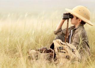 dziecko, przygoda, safari, wyprawa