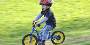 dziecko, rower