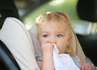 dziecko, samochód, auto