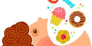 dziecko, słodycze, cukierki