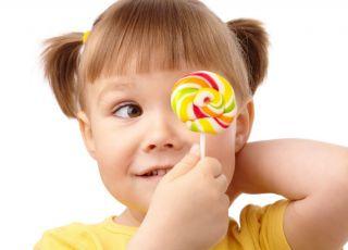 dziecko, słodycze, lizak