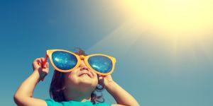 dziecko, słońce, lato