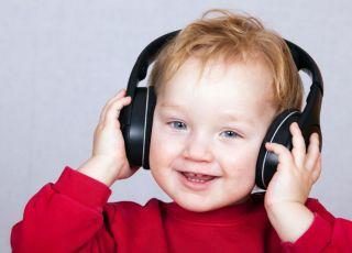 dziecko, słuch, muzyka