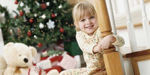 dziecko, święta, choinka, Boże Narodzenie