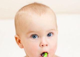 dziecko, szczoteczka do zębów, zęby