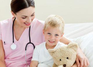 dziecko, szpital, zdrowie dziecka, lekarz