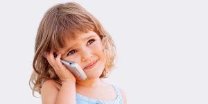 dziecko, telefon