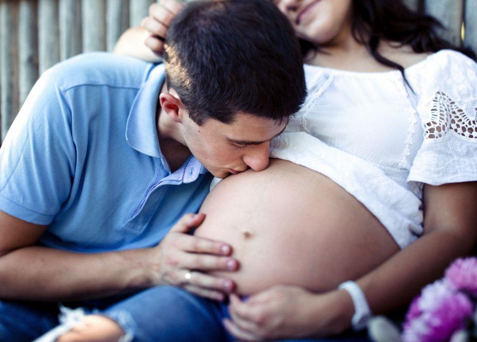 dziecko uczy się jeszcze w brzuchu mamy