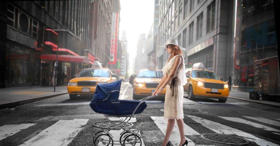 dziecko w mieście
