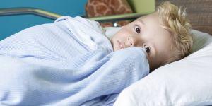 Dziecko w szpitalu