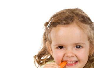 dziecko, warzywa, kuchnia
