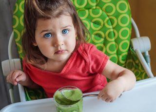 dziecko wegetarianin