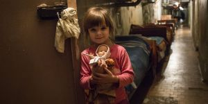 dziecko, wojna, Ukraina