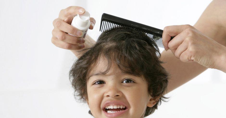 dziecko, wszy, włosy, czesanie