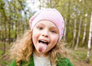 dziecko, wychowanie, jesień, język
