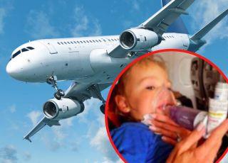 Dziecko z astmą wyrzucone z samolotu przez BRAK MASECZKI!