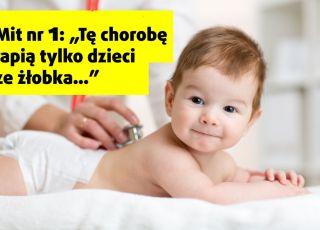 dziecko z rotawirusem