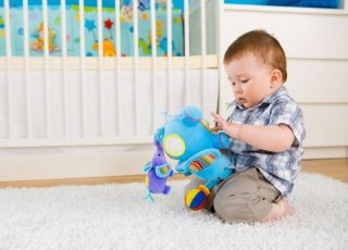 dziecko, zabawka, pokój dziecka