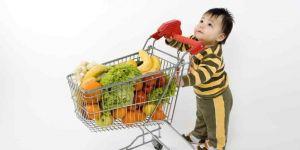 dziecko, zakupy, dieta