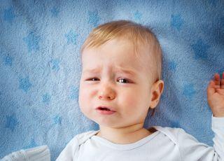 Dziecko zarażone rotawirusem