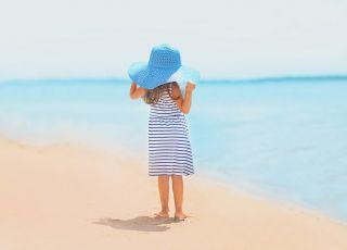Dziecko zgubiło się na plaży
