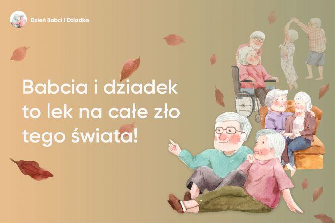 grafika na dzień babci i Dziadka