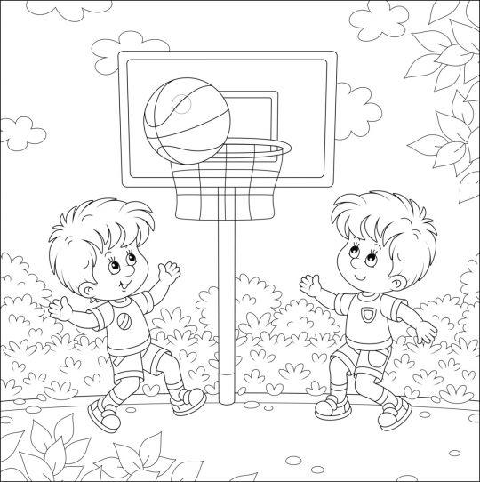 dzień dziecka kolorowanki: obrazek 1