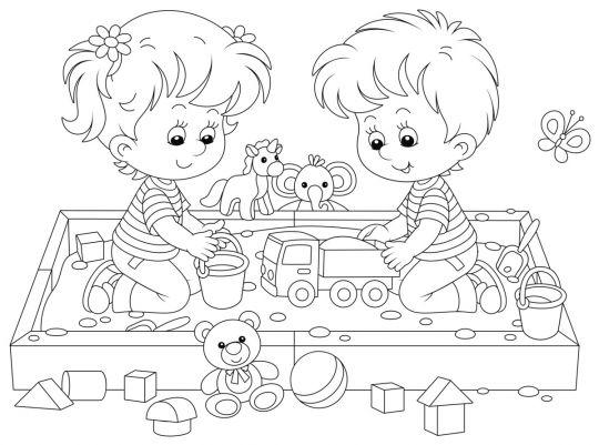 Dzień Dziecka kolorowanki: obrazek 4