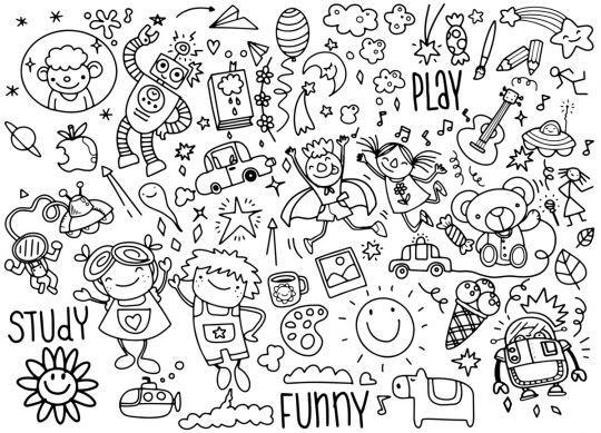 Dzień Dziecka kolorowanki: obrazek 6