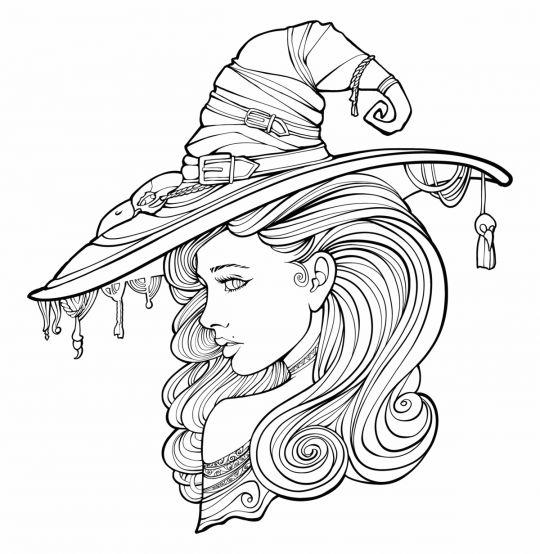 dzień kobiet kolorowanki kobieta w kapeluszu