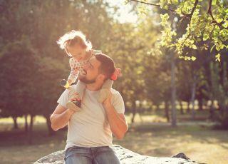 dzień ojca, tata z dzieckiem
