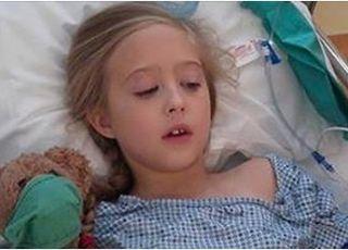 dziewczynka chora na raka piersi